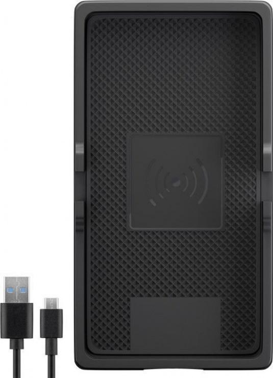 Imagine Incarcator wireless Fast Charging 10W pentru auto/birou, Goobay 55479-1