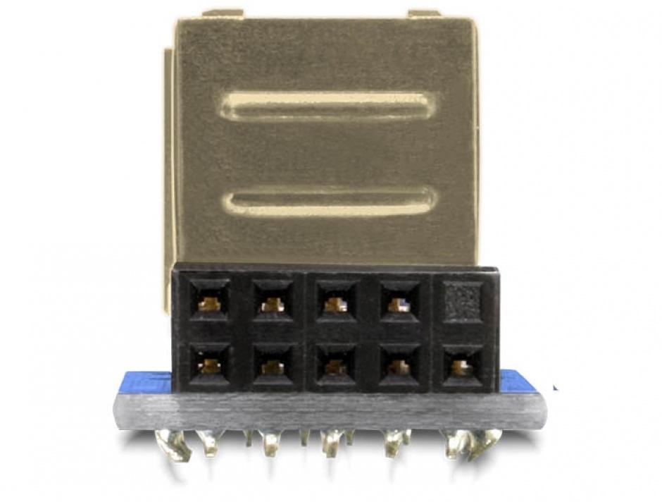 Imagine Adaptor intern 2 porturi USB 2.0, Delock 41825-1