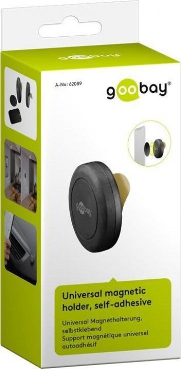 Imagine Suport magnetic universal self-adhesive (45mm), Goobay 62089-7