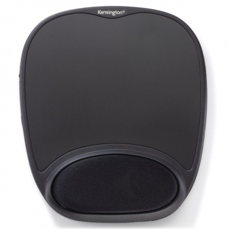 Imagine Mouse pad Comfort Gel Negru, Kensington 62386