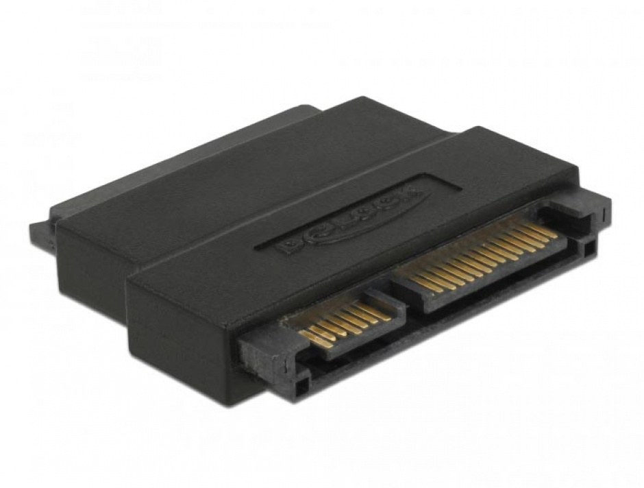 Imagine Adaptor SATA 22 pini T-M port saver, Delock 63945-2