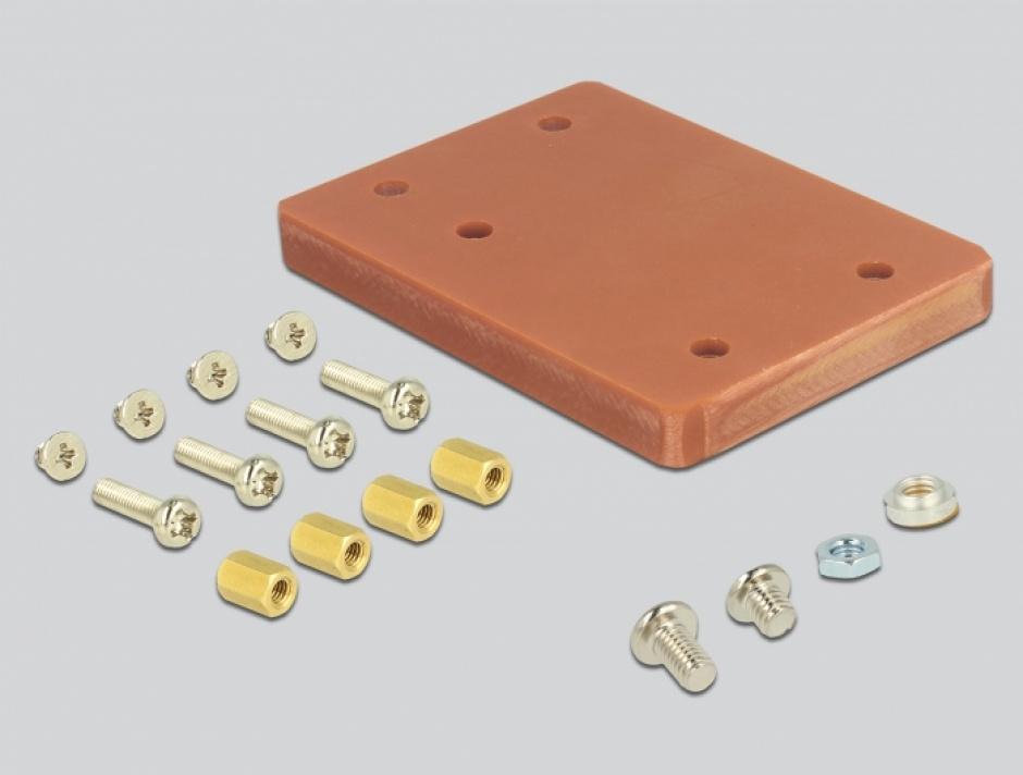 Imagine Adaptor U.2 SFF-8639 la PCIe/M.2 Key M slot, Delock 63951-3