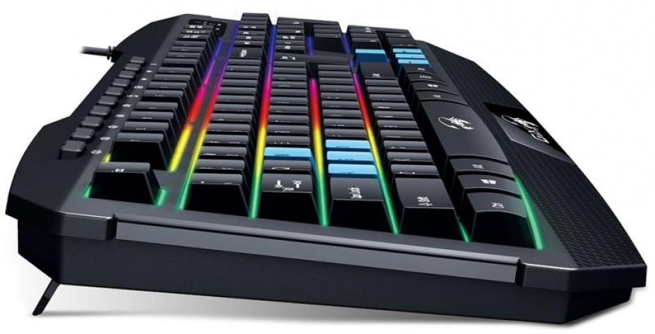 Imagine Tastatura gaming  Scorpion K215 7 Colour Backlight, Genius 31310474100