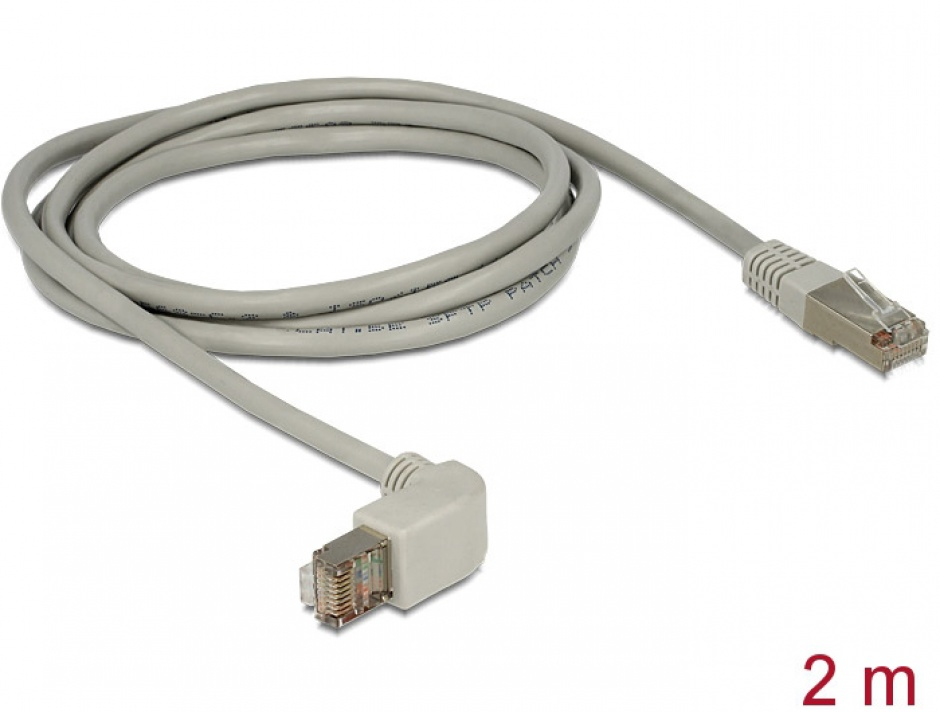 Imagine Cable RJ45 Cat.5e SFTP angled / straight 2 m-1