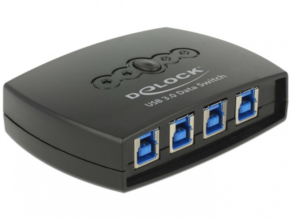 Imagine Sharing Switch USB 3.0 4 PC x 1 periferica, Delock 87724
