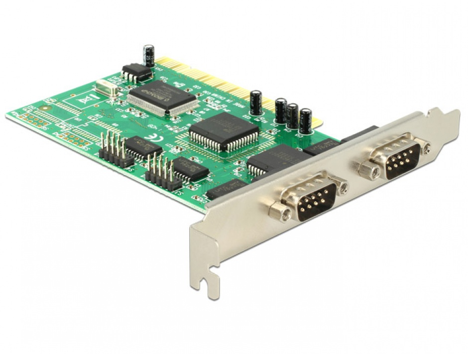 Imagine PCI cu 4 x serial RS232, Delock 89046