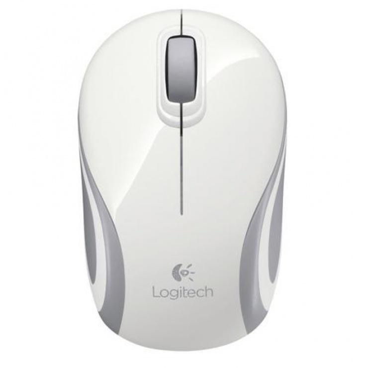 Imagine Mouse wireless Alb M187, Logitech