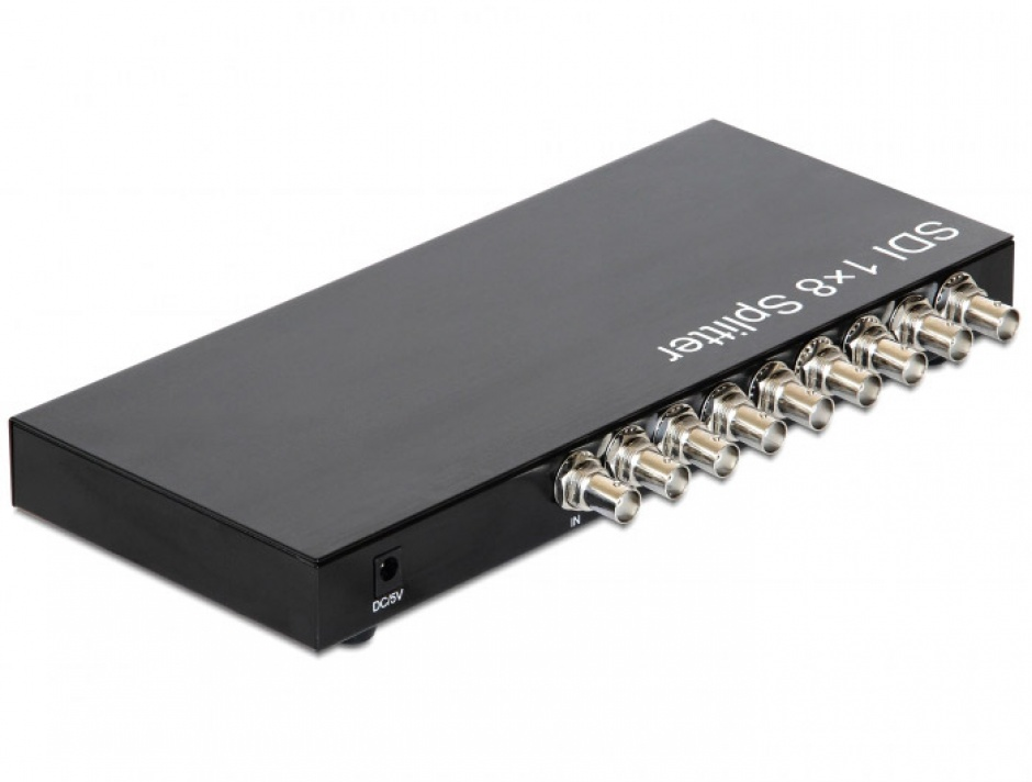 Imagine Multiplicator 8 porturi 3G-SDI, Delock 93253