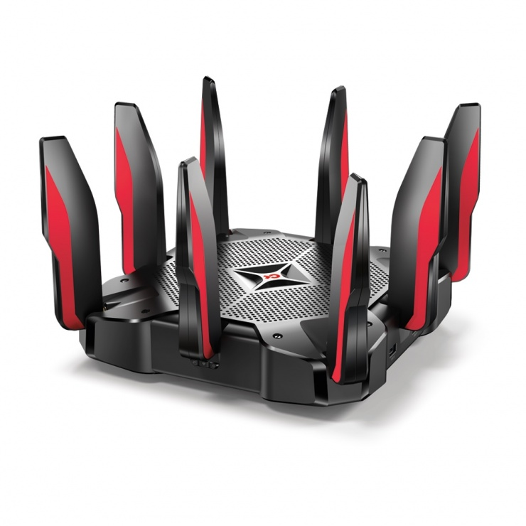 Imagine Router Gaming MU-MIMO Tri-Band, TP-LINK Archer C5400X