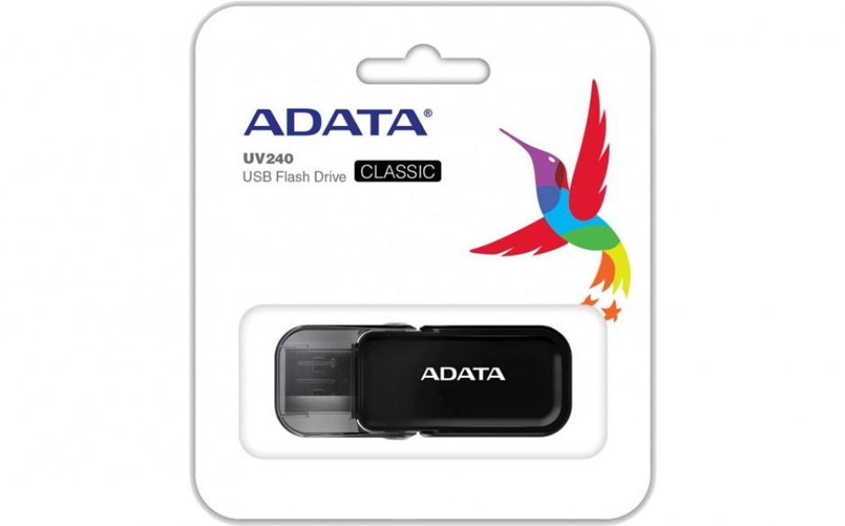 Imagine Stick USB 2.0 64GB ADATA UV240 Black-2