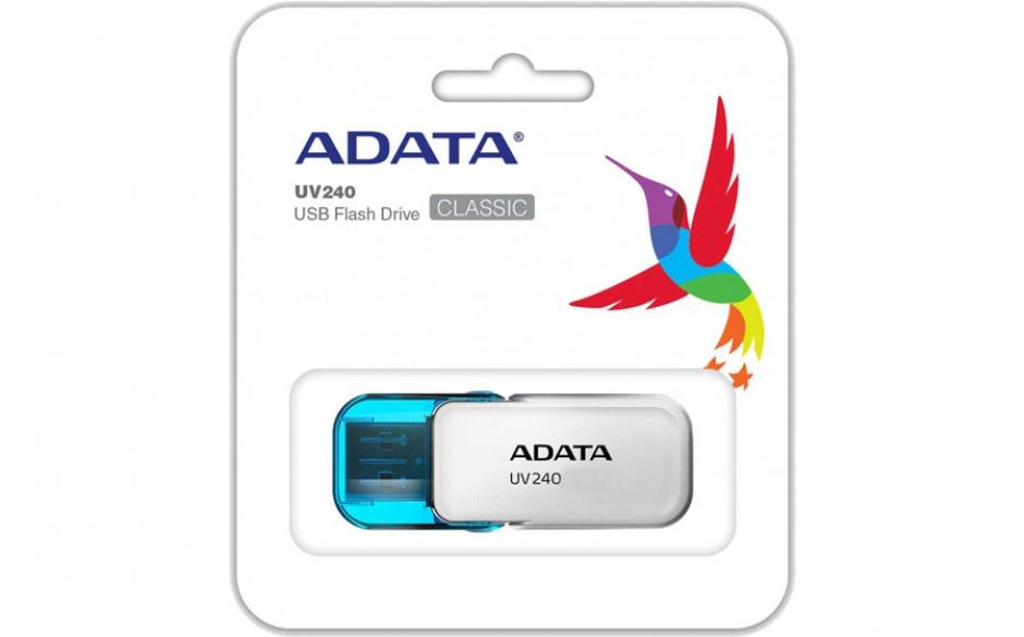 Imagine Stick USB 2.0 8GB ADATA UV240 White-2