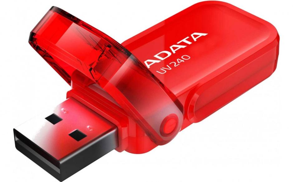 Imagine Stick USB 2.0 32GB ADATA UV240 Rosu-1