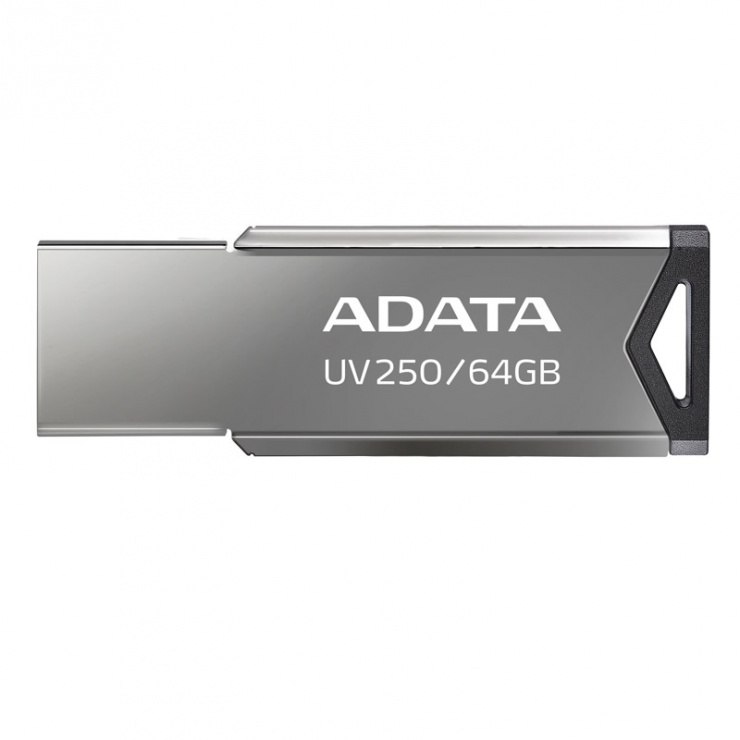 Imagine Stick USB 2.0 64GB Aliaj Silver, ADATA
