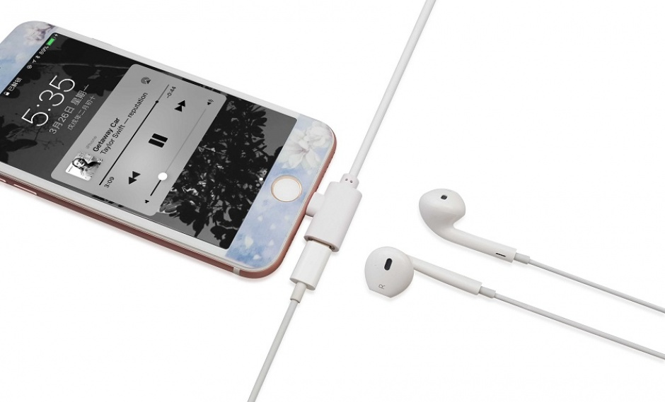 Imagine Cablu USB 2.0 la iPhone Lightning 2 in 1 incarcare + date Alb-3