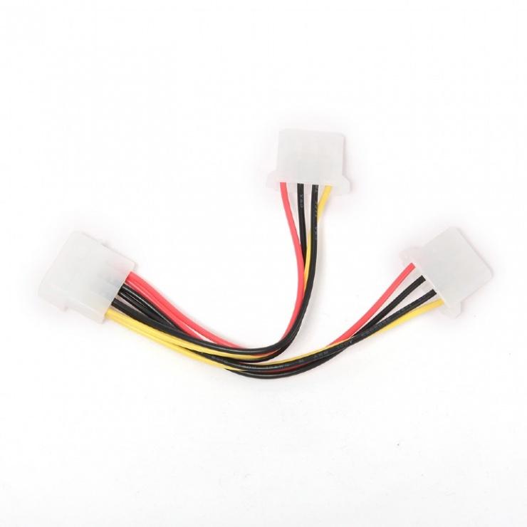 Imagine Cablu alimentare Molex la 2 x Molex T-M, Gembird CC-PSU-1-1