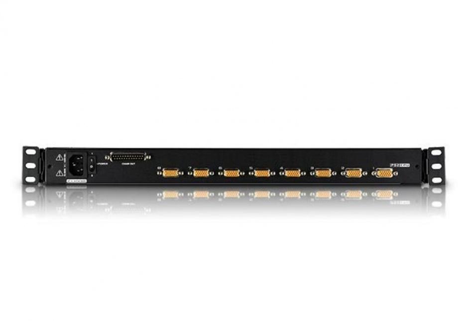"""Imagine Distribuitor KVM 17"""" LCD PS/2 VGA 8 porturi, ATEN CL1008M-1"""