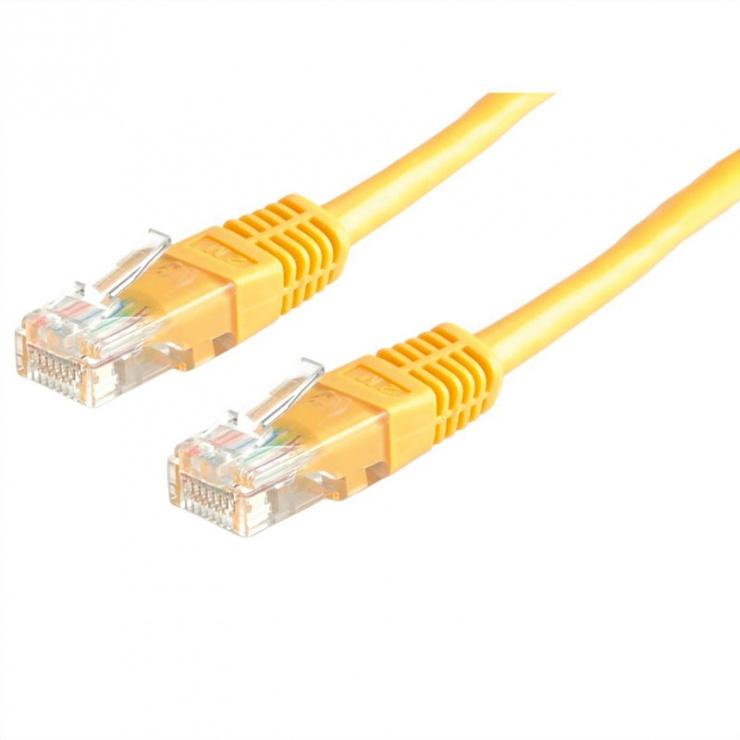 Imagine Cablu de retea RJ45 MYCON UTP Cat.6 1m Galben, CON1532