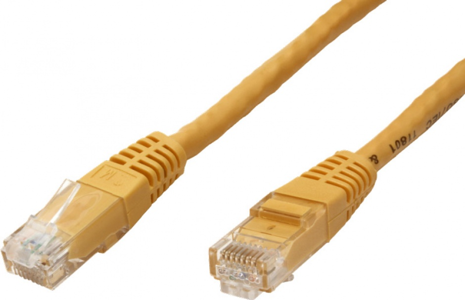 Imagine Cablu de retea RJ45 MYCON UTP Cat.6 1.5m Galben, CON0952-1