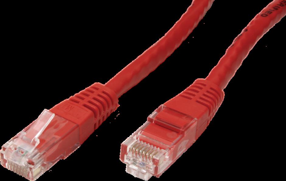 Imagine Cablu de retea RJ45 MYCON UTP Cat.6 5m Rosu, CON1561-1