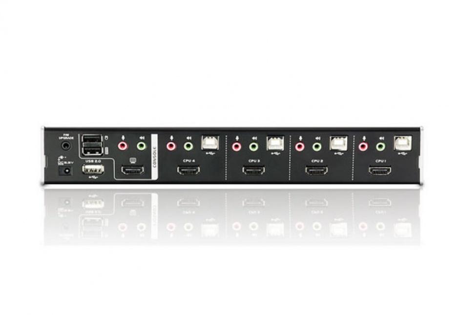 Imagine Distribuitor KVM HDMI 4 porturi + HUB USB, ATEN CS1794-1