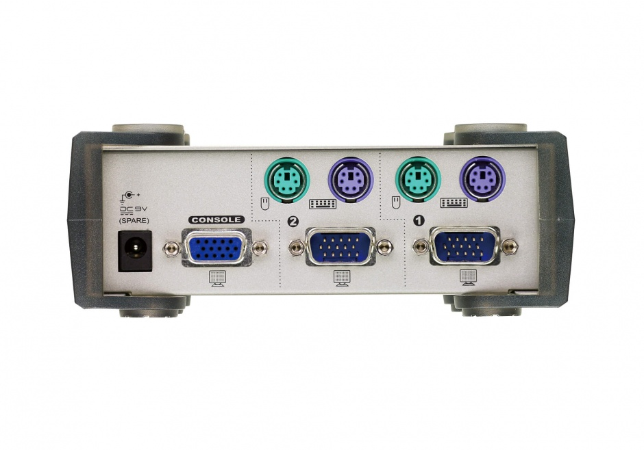Imagine Distribuitor KVM Digital PS/2 VGA 2 porturi, Aten CS82A-1
