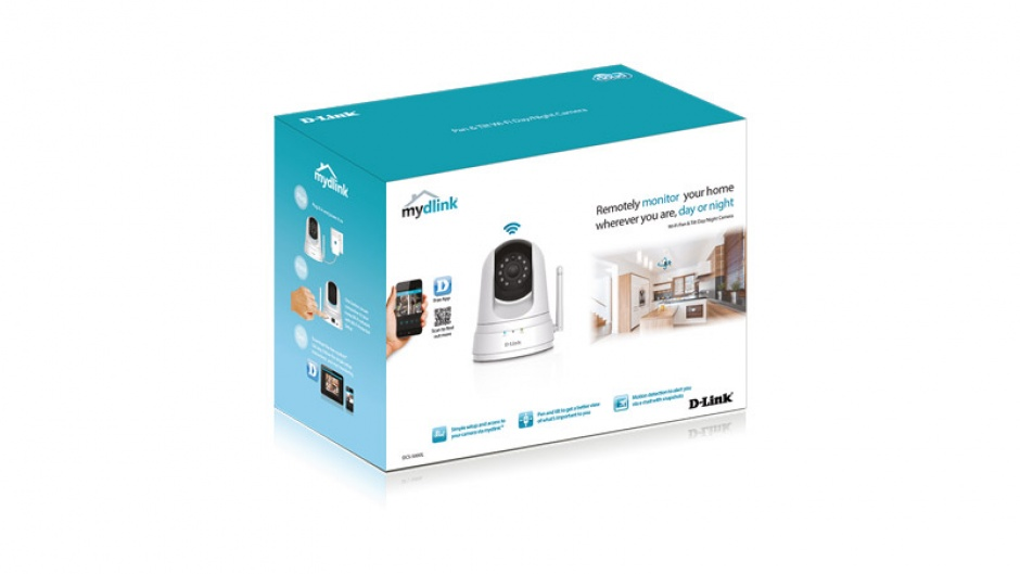 Imagine Camera IP wireless de interior Day and Night, D-LINK DCS-5000L-4