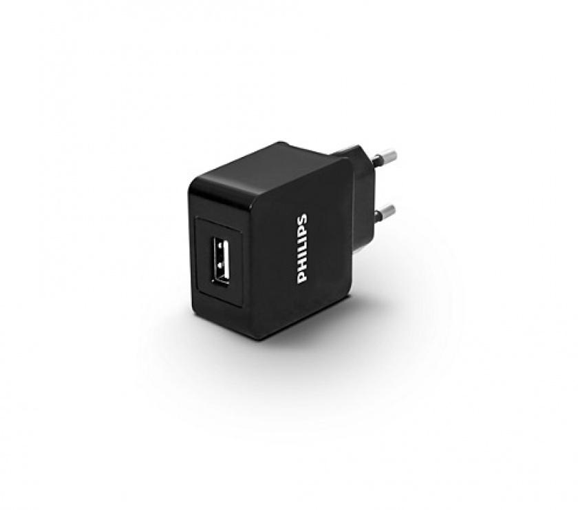 Imagine Incarcator priza Quick Charge 1 x USB 2.1A, Philips DLP2309/12