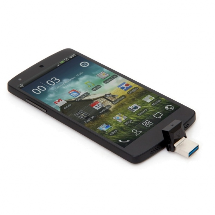 Imagine Stick USB 3.0 32GB KINGSTON DATA TRAVELER MicroDuo OTG, DTDUO3/32GB-5