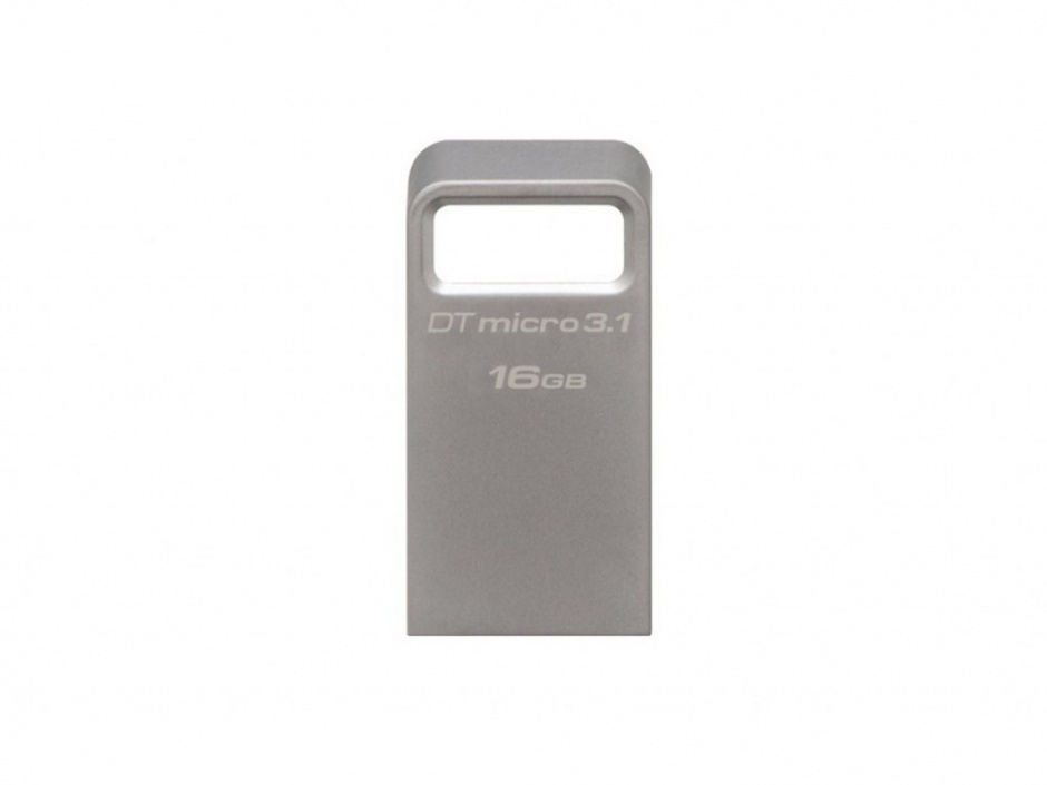 Imagine Stick DataTraveler Micro 16GB USB 3.1/3.0, Metal, Kingston DTMC3/16GB