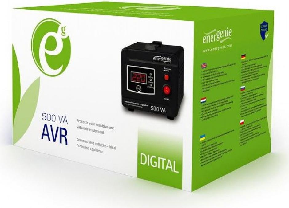 Imagine AVR 500VA/ 300W, Gembird EG-AVR-D500-01-3
