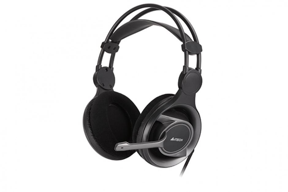 Imagine Casti Stereo cu microfon ComfortFit, A4Tech HS-100
