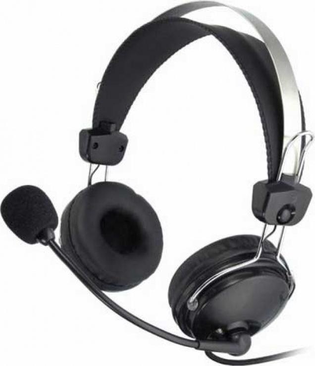 Imagine Casti cu microfon flexibil Comfortfit, A4TECH HS-7P