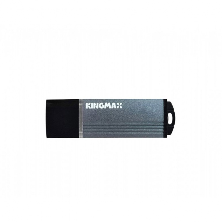Imagine Stick USB 2.0 32GB MA-06 aliaj aluminiu Gri, Kingmax