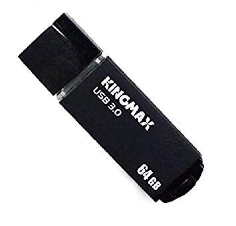 Imagine Stick USB 3.0 64GB MB-03 compact, aliaj aluminiu Black, Kingmax