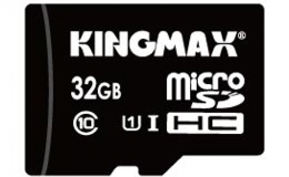 Imagine Card de memorie micro SDHC 32GB Clasa 10 + adaptor SD, Kingmax