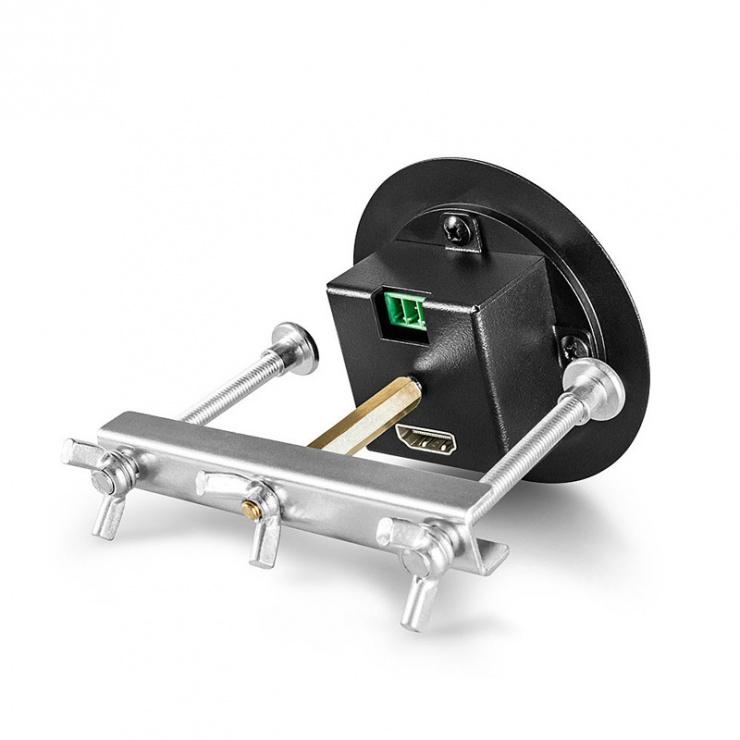 Imagine Switch HDMI / DisplayPort / VGA + audio la HDMI 4K@60Hz cu kit Table Grommet, Lindy L38282-3