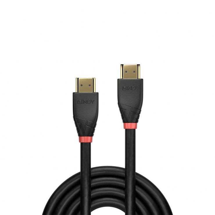Imagine Cablu HDMI activ v2.0 4K T-T 30m Negru, Lindy L41075-1