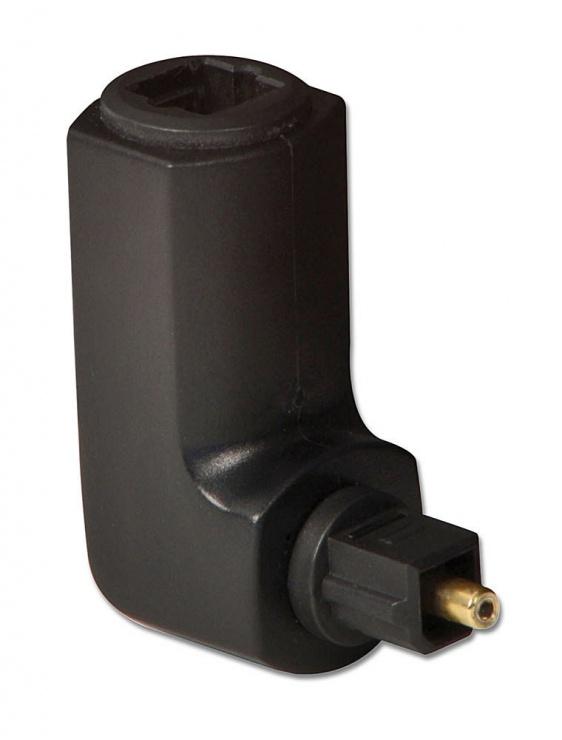 Imagine Adaptor optic toslink unghi 360 grade T-M, Lindy L70421