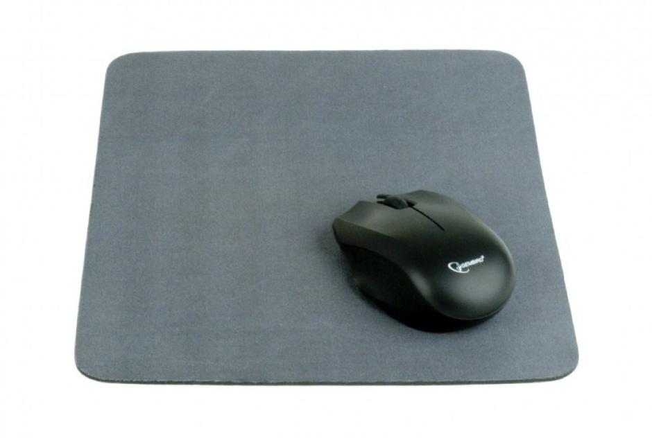 Imagine Mouse pad din panza Gri, Gembird MP-A1B1-GREY