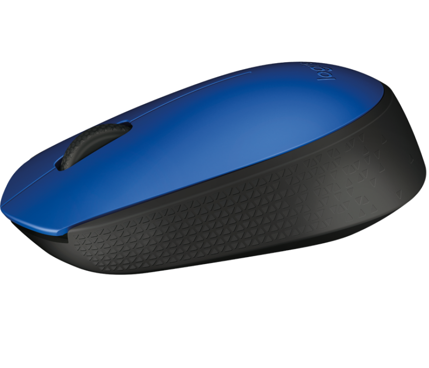 Imagine Mouse Logitech M171 Wireless Blue-1