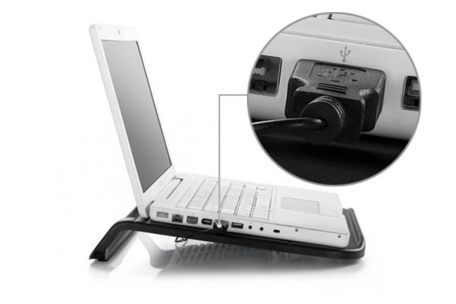 "Imagine Stand Notebook 15.6"" Negru, DeepCool N200-1"
