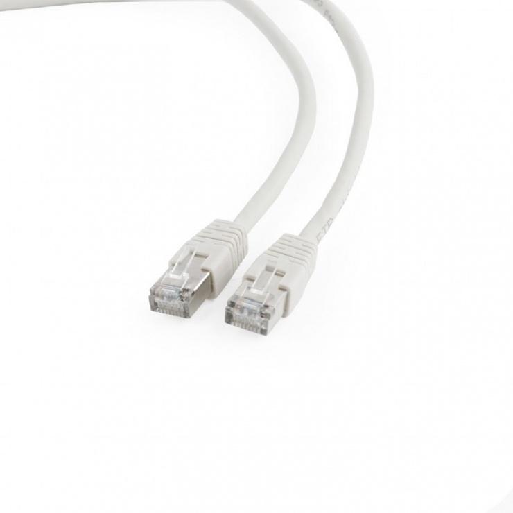 Imagine Cablu de retea RJ45 FTP cat6 20m Gri, Gembird PP6-20M