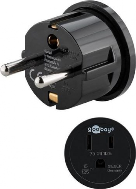 Imagine Adaptor USA la Europa, Goobay 45350