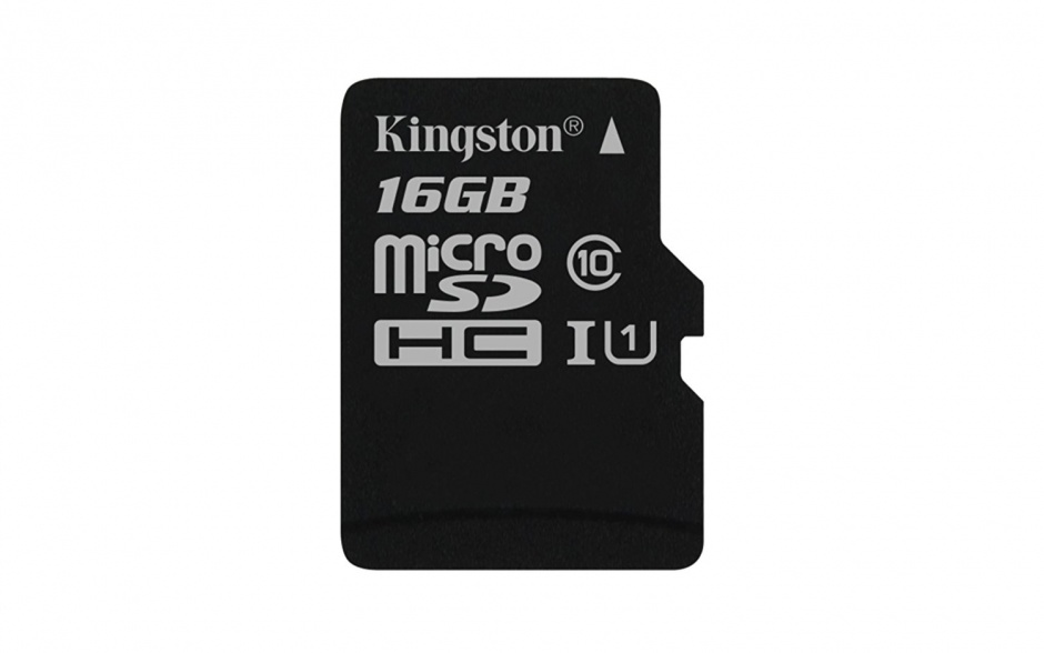 Imagine Card de memorie micro SDHC Canvas Select 16GB clasa 10, Kingston SDCS/16GBSP