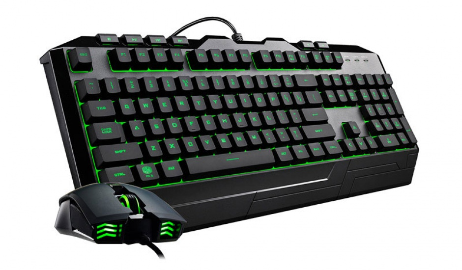 Imagine Kit tastatura si mouse USB COOLER MASTER Devastator 3 RGB LED