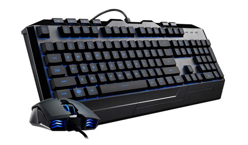 Imagine Kit tastatura si mouse USB COOLER MASTER Devastator 3 RGB LED-14