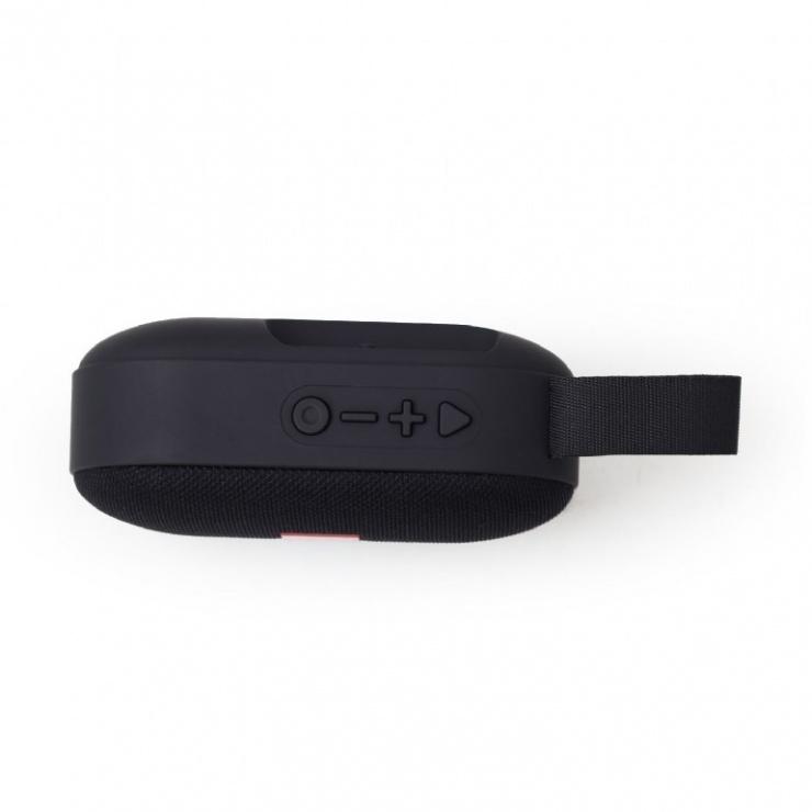 Imagine Boxa portabila Bluetooth Negru, Gembird SPK-BT-11-1
