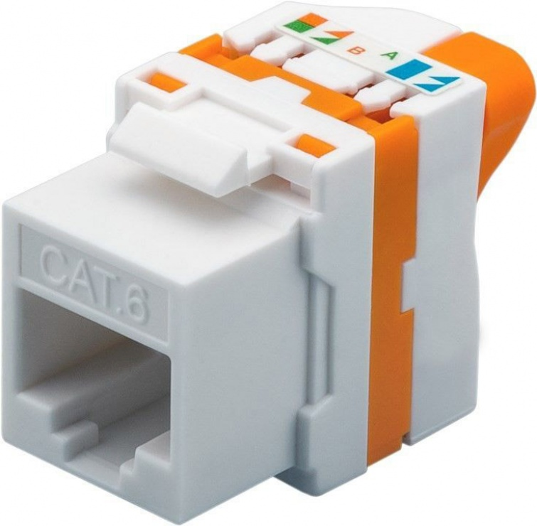 Imagine Modul Keystone cat 6 UTP tool-free cu buton de rotire, 93826