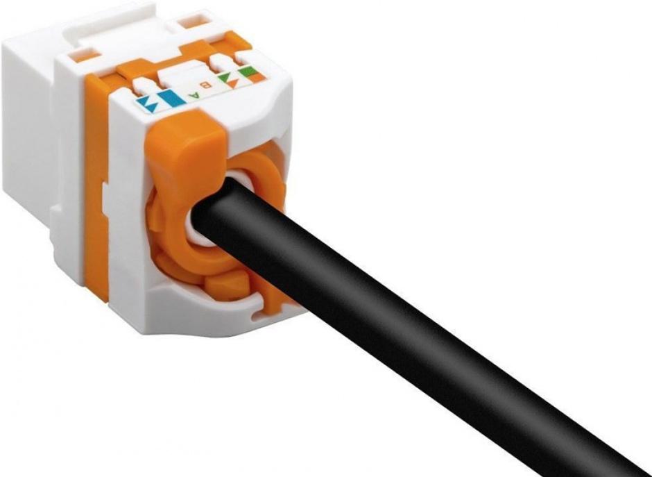 Imagine Modul Keystone cat 6 UTP tool-free cu buton de rotire, 93826-3