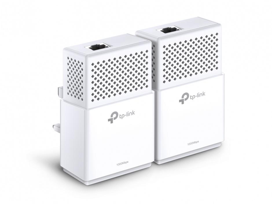 Imagine Kit Adaptor Powerline AV1000, 2x Gigabit, TP-LINK TL-PA7010KIT
